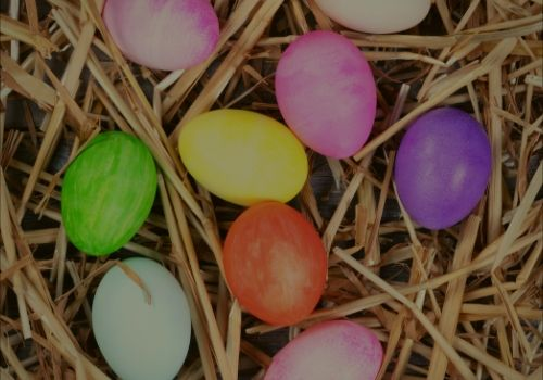 Easter Egg Hunt at Little Arrow Outdoor Resort in Townsend, TN