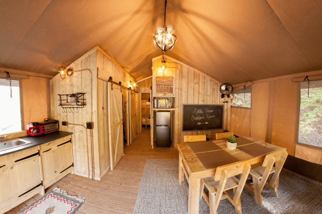 Luxury Glamping Great Smoky Mountains